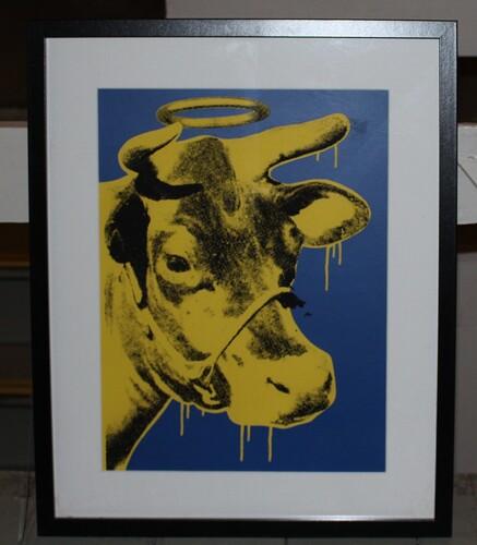 Tabby Holy Cow testtrykk
