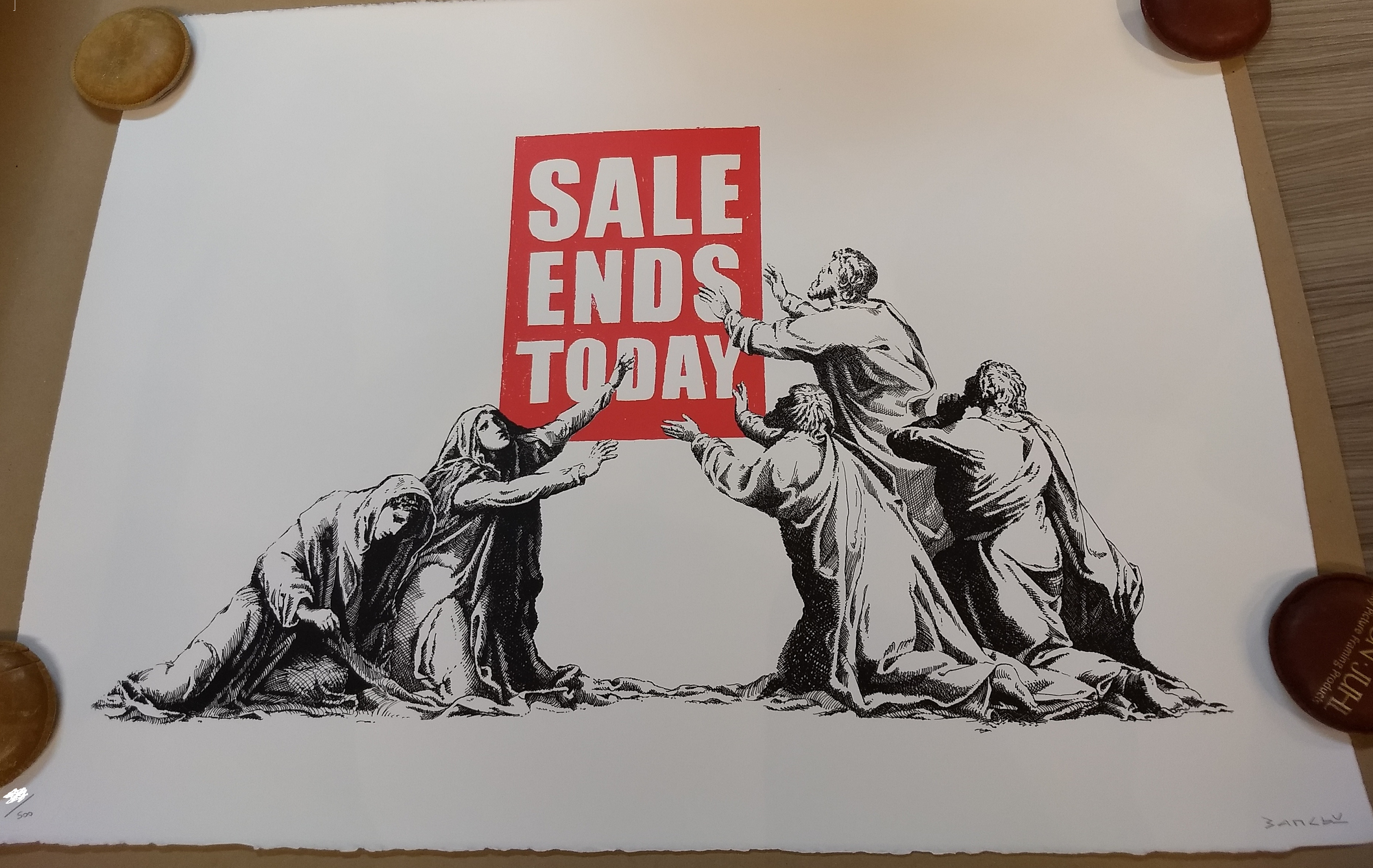 Banksy Sales Ends 2
