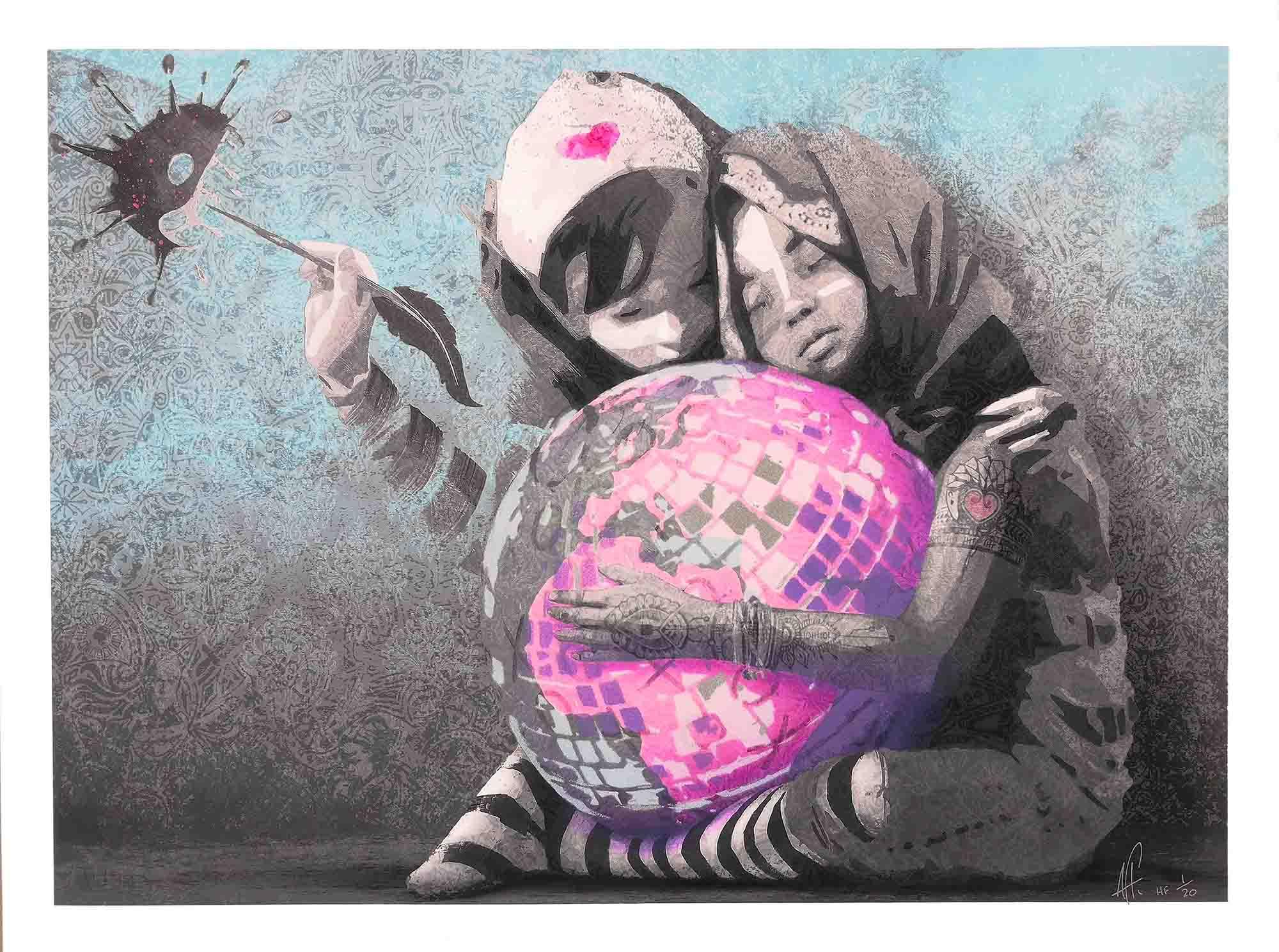AFK - Hug the world small HF